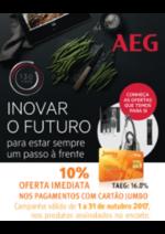 Promoções e descontos Jumbo : AEG - 10% Oferta Imediata Cartão Jumbo