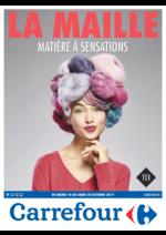 Prospectus Carrefour : La maille matière à sensations