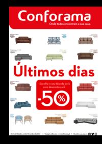 Folhetos Conforama Setúbal : Últimos dias até -50%