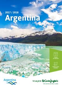 Catálogos y colecciones Viajes El Corte Inglés Alcorcón San José de Valderas : Argentina 2017-2018