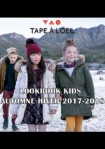 Catalogues et collections Tape à l'oeil : Lookbook kids automne hiver 2017-2018