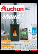 Prospectus Auchan : Au chaud !