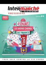 Prospectus Intermarché Contact : Les 4 semaines les moins chères de France. Semaine 4