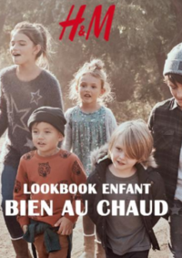 Catalogues et collections H&M La Défense : Lookbook enfant Bien au chaud
