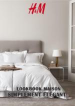 Catalogues et collections H&M : Lookbook maison Simplement élégant