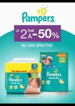 Bons Plans Monoprix : Pampers : le 2ème à -50%