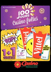 Prospectus Supermarchés Casino PANTIN : Les 100 jours Casino folies V
