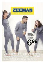 Prospectus Zeeman : Cette semaine : des vêtements thermiques de sport pour la famille