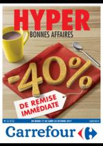 Prospectus Carrefour : Hyper bonnes affaires