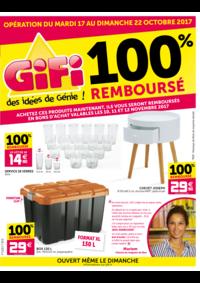 Prospectus Gifi PLAISIR : 100% remboursé