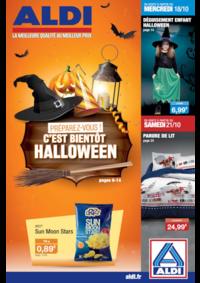 Prospectus Aldi Creutzwald : Préparez-vous ! C'est bientôt Halloween