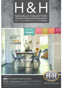 Prospectus H&H : Nouvelle collection
