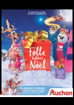 Catalogues et collections Auchan : La folle histoire de Noël