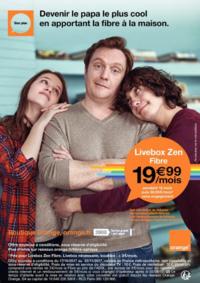Prospectus Boutique Orange PARIS 30 : Devenir le papa le plus cool en apportant la fibre à la maison