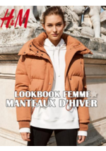 Catalogues et collections H&M : Lookbook femme Manteaux d'hiver