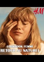 Catalogues et collections H&M : Lookbook femme Retour au naturel