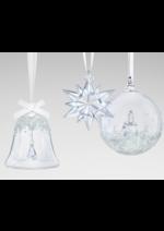 Catalogues et collections Swarovski : Décoration Noël 2017