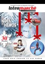 Catalogues et collections Intermarché Super : Le Noël des héros