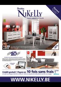 Prospectus Meubles Nikelly : Crédit gratuit ! Payez en 10 fois sans frais !