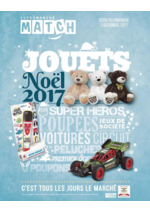 Catalogues et collections Match : Jouets Noël 2017