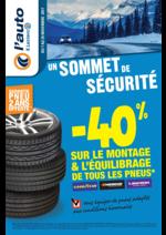 Prospectus L'auto E.Leclerc : Un sommet de sécurité
