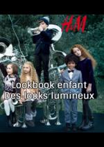 Catalogues et collections H&M : Lookbook enfant Des looks lumineux