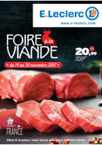 Prospectus E.Leclerc : Foire à la viande