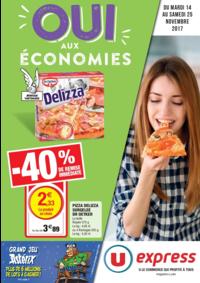 Prospectus Super U VILLE D'AVRAY : Oui aux économies