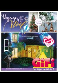 Prospectus Gifi DREUX : Voyagez au pays de Noël
