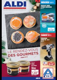Prospectus Aldi Epinay-sur-Seine : Le rendez-vous des gourmets