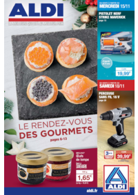 Prospectus Aldi Les Clayes-sous-Bois : Le rendez-vous des gourmets