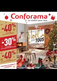Prospectus Conforama CHARTRES - BARJOUVILLE : Noël pour tous