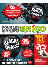 Prospectus Brico City IXELLES : Brico Black Friday !