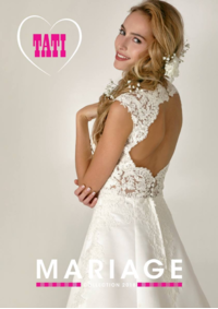 Catalogues et collections Tati VILLIERS LE BEL : Mariage Collection 2018