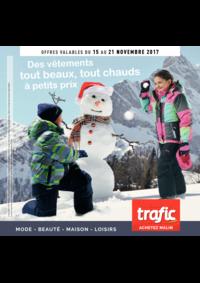 Prospectus Trafic Anderlecht : Des vêtements tout beaux, tout chauds à petits prix