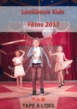 Catalogues et collections Tape à l'oeil : Lookbook Kids : Fêtes 2017