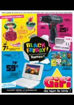Prospectus Gifi : Black friday ! Des prix complètement barrés !