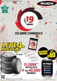 Folhetos Roady Montijo : Celebre connosco