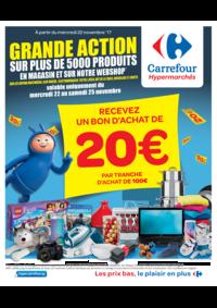 Prospectus Carrefour MONS Grands Prés : Grande action sur plus de 5000 produits