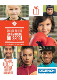 Catalogues et collections DECATHLON Claye Souilly : Offrez toutes les émotions du sport