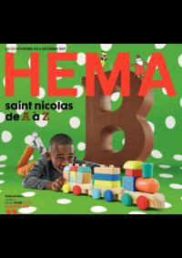 Prospectus Hema OSTENDE : Saint Nicolas de A à Z
