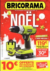 Prospectus Bricorama SEVRES : Noël
