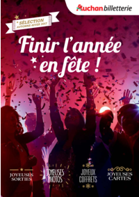Prospectus Auchan ISSY LES MOULINEAUX : Finir l'année en fête !