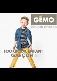 Catalogues et collections Gemo LOCHES : Lookbook enfant garçon