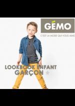 Catalogues et collections Gemo : Lookbook enfant garçon
