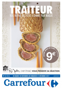 Menus Carrefour CHARENTON LE PONT : Vos repas de fêtes comme par magie