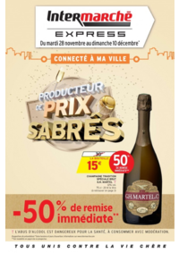 Prospectus Intermarché Express PARIS 4 : Producteur de prix sabrés
