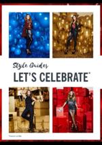 Promos et remises  : Style guides Let's celebrate