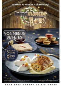 Prospectus Intermarché Super : Vos menus de fêtes