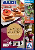 Prospectus Aldi : La Magie des fêtes à votre table